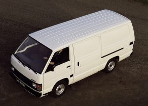 History of Toyota HiAce 22