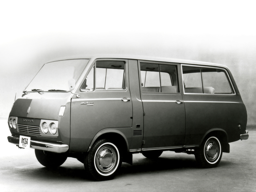 History of Toyota HiAce 1