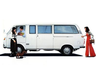 History of Toyota HiAce 4