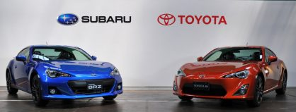Toyota and Subaru Agree on New Capital Alliance 3