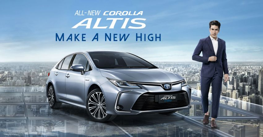 All New Toyota Corolla Altis Launched in Thailand 1