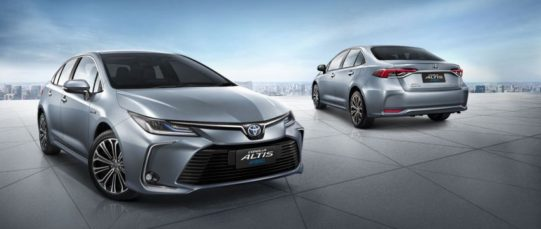 All New Toyota Corolla Altis Launched in Thailand 8