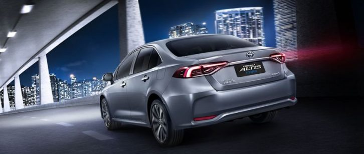All New Toyota Corolla Altis Launched in Thailand 12