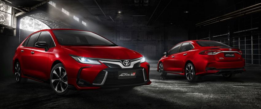 All New Toyota Corolla Altis Launched in Thailand 2