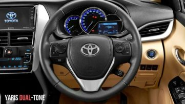 2019 Toyota Yaris Dual-Tone Launched in India Priced from INR 8.65 Lac 2
