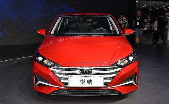 2020 Hyundai Verna Facelift Break Covers at Chengdu Auto Show 1