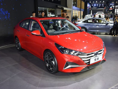 2020 Hyundai Verna Facelift Break Covers at Chengdu Auto Show 2