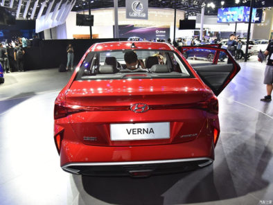 2020 Hyundai Verna Facelift Break Covers at Chengdu Auto Show 6