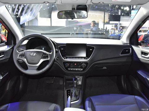 2020 Hyundai Verna Facelift Break Covers at Chengdu Auto Show 13