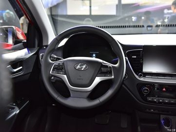 2020 Hyundai Verna Facelift Break Covers at Chengdu Auto Show 19