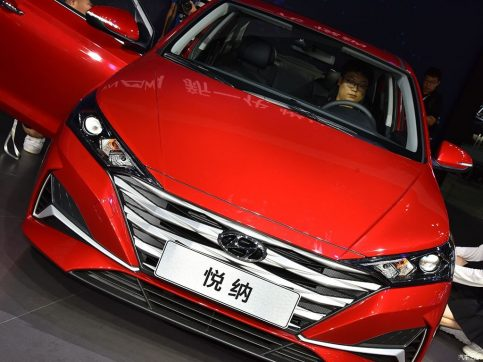 2020 Hyundai Verna Facelift Break Covers at Chengdu Auto Show 3
