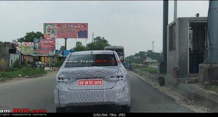 Next Generation Honda City Spotted Testing in India 1