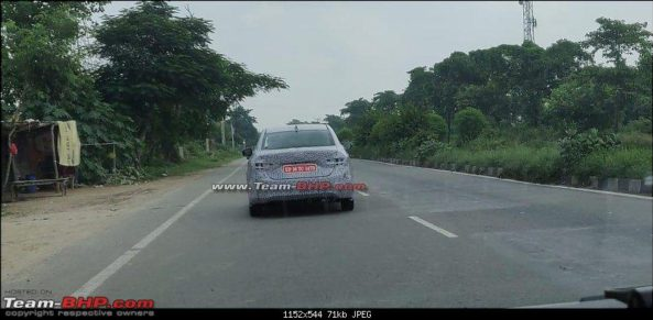 Next Generation Honda City Spotted Testing in India 5