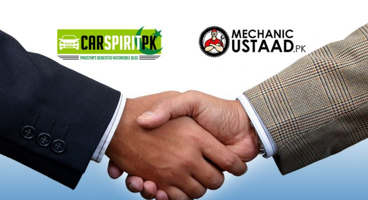 CarSpiritPK Join Hands with MechanicUstaad 2