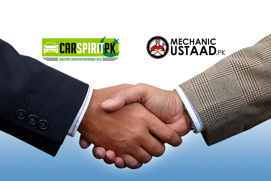 CarSpiritPK Join Hands with MechanicUstaad 3
