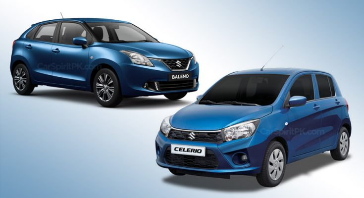 Suzuki Celerio and Baleno Discontinued In UK 1