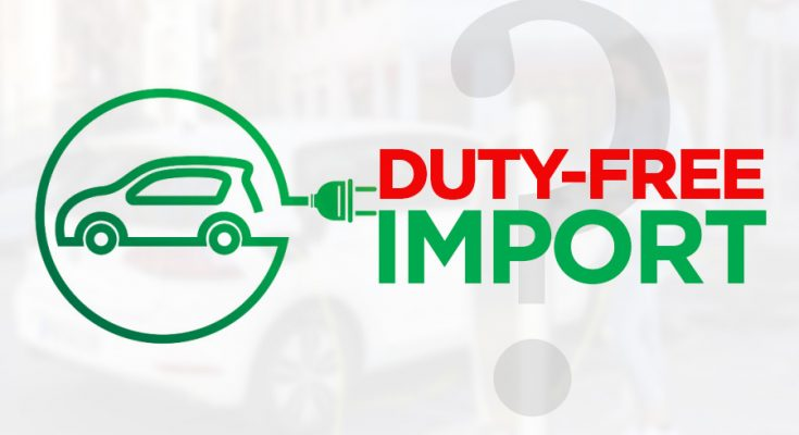 Ministry Planning to Allow Duty-Free Import of Electric Vehicles 1