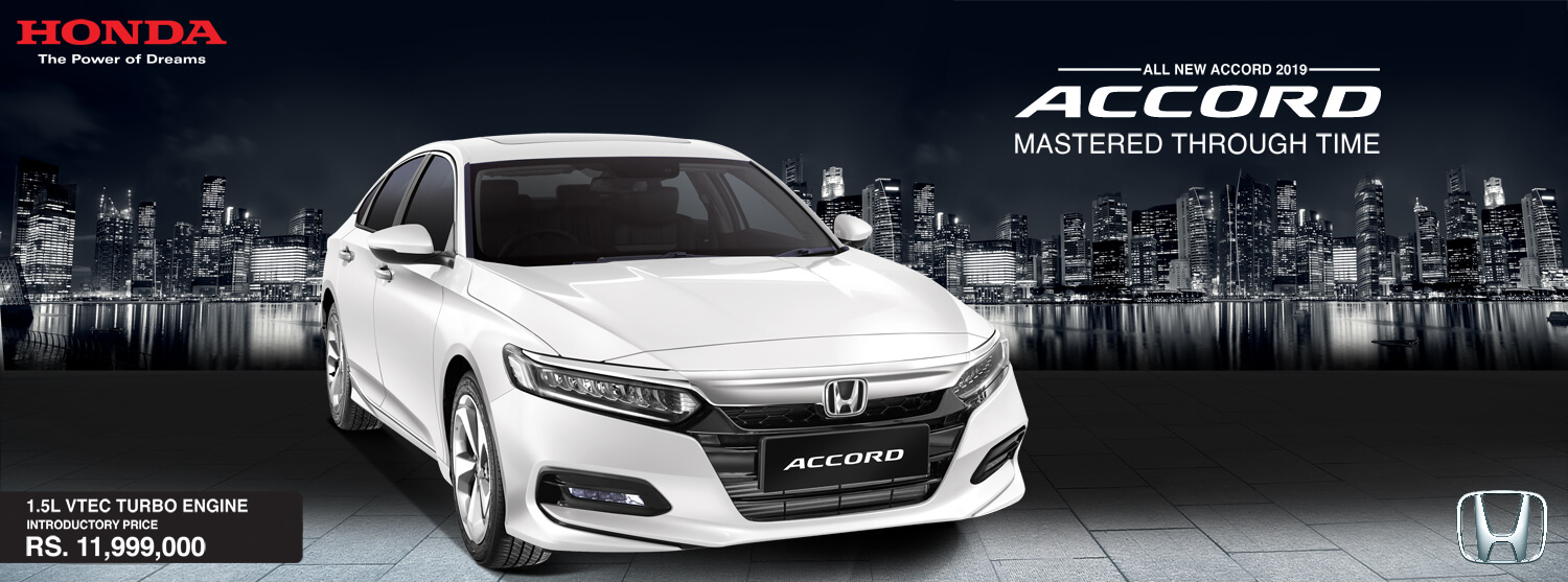 Honda Launches 10th gen Accord in Pakistan 9