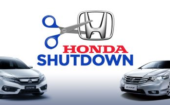 Honda Shutdowns Increased in September 1