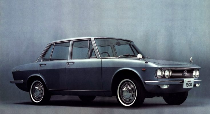 Remembering Mazda 1500 Sedan from the 1960s 2
