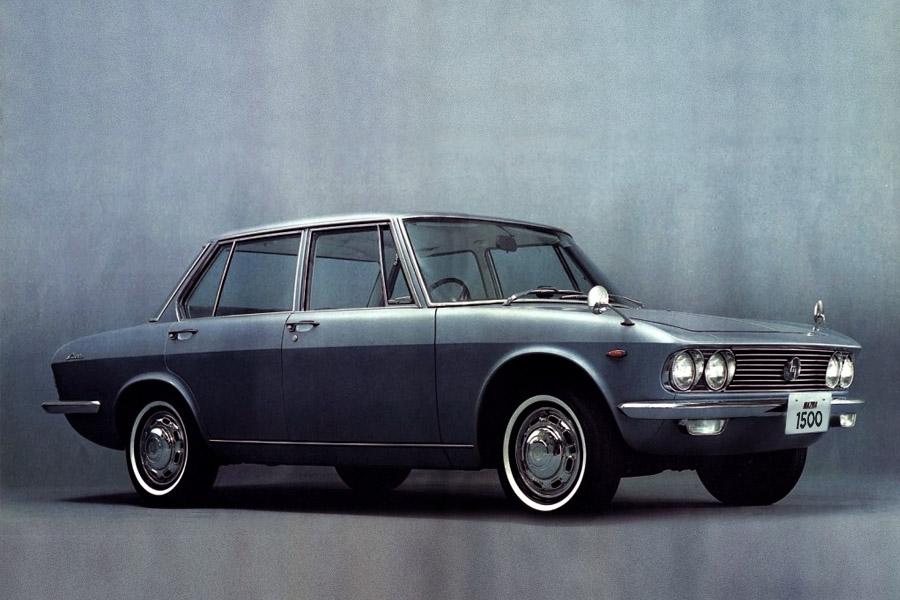 Remembering Mazda 1500 Sedan from the 1960s 1