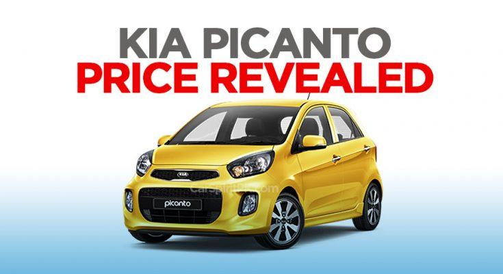 Kia Picanto Price Revealed- Booking Open 2