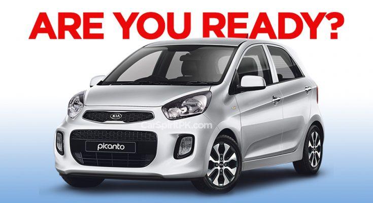 Kia Picanto Booking to Start Next Week 1