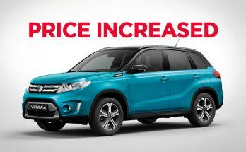 Pak Suzuki Increase Vitara GLX Price 8