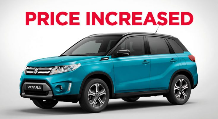 Pak Suzuki Increase Vitara GLX Price 1