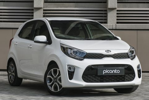 3rd gen Kia Picanto Facelift Leaked 5