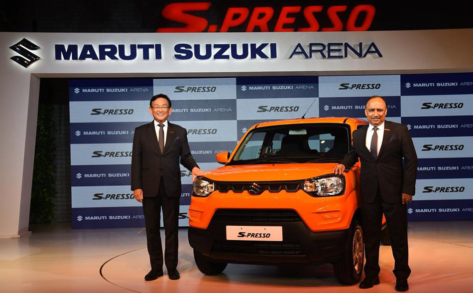 All New Suzuki S-Presso Launched in India at INR 3.69 Lac 1