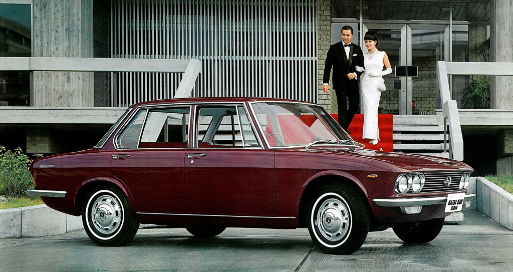 Remembering Mazda 1500 Sedan from the 1960s 4