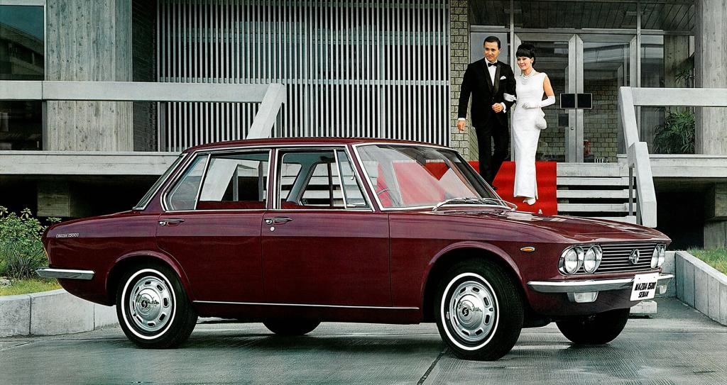 Remembering Mazda 1500 Sedan from the 1960s 2