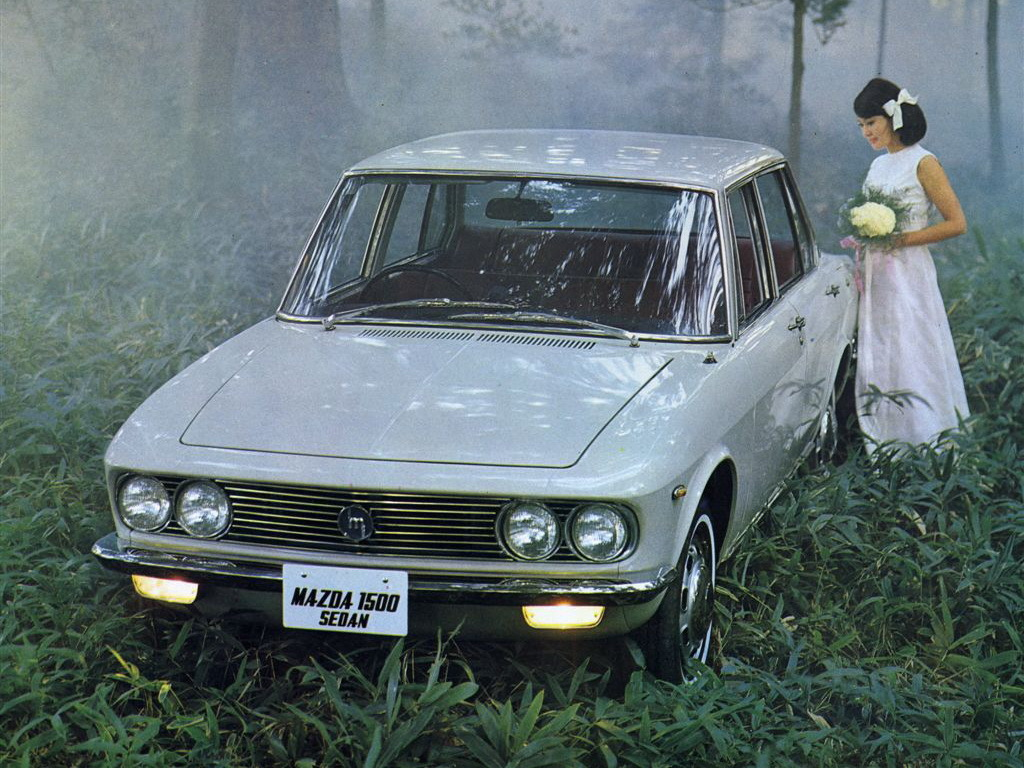 Remembering Mazda 1500 Sedan from the 1960s 6