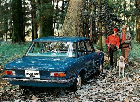 Remembering Mazda 1500 Sedan from the 1960s 15