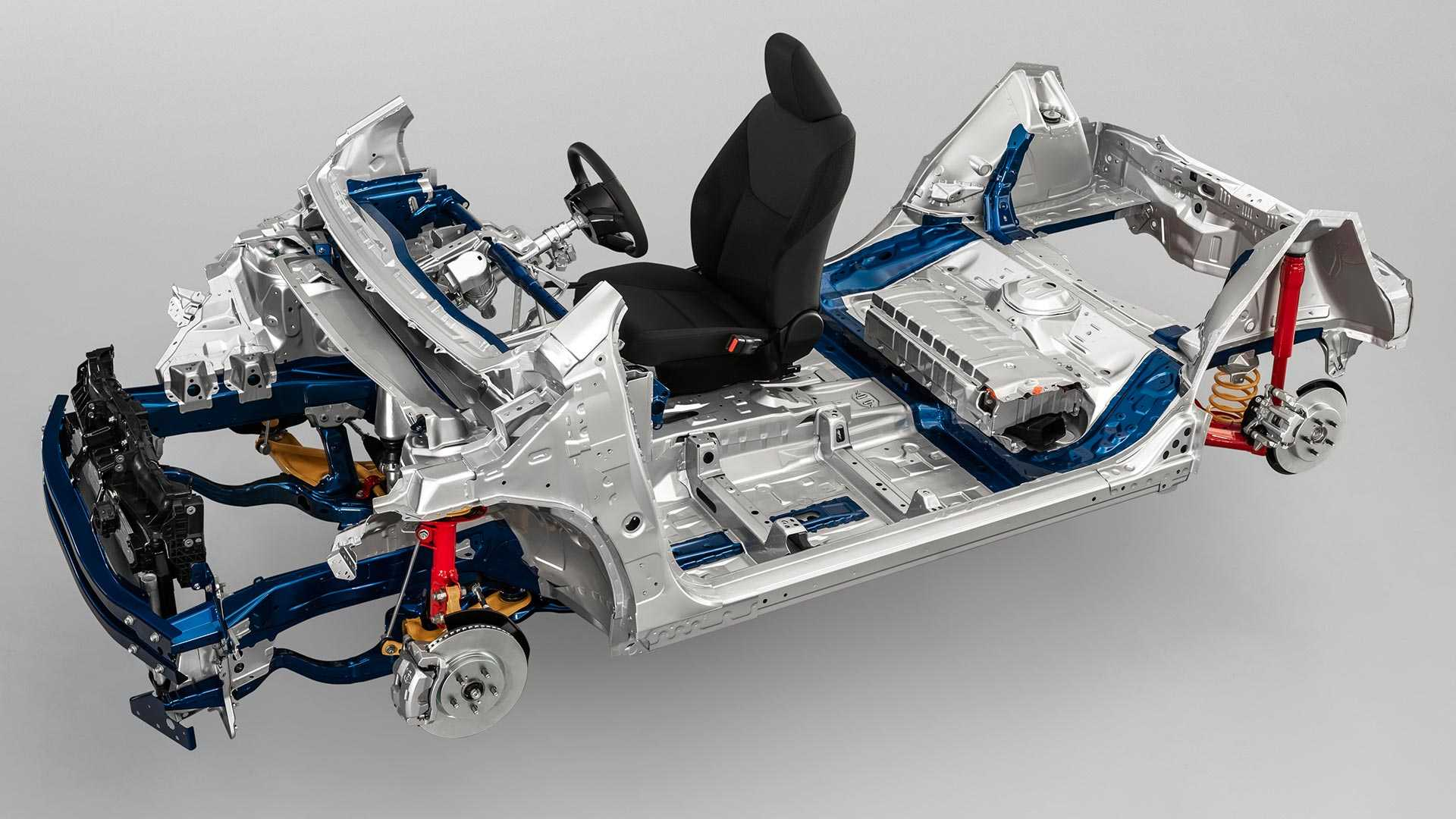 Toyota Announces New Modular Platform for Small Cars 10