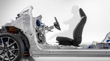 Toyota Announces New Modular Platform for Small Cars 5