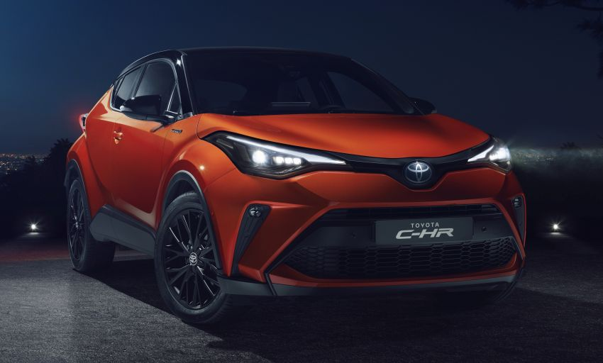 Toyota C-HR Facelift Debuts 2