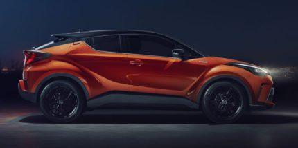 Toyota C-HR Facelift Debuts 2