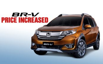 Honda BR-V Gets a Price Bump 4