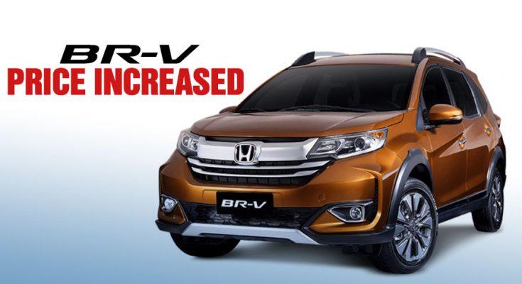 Honda BR-V Gets a Price Bump 1