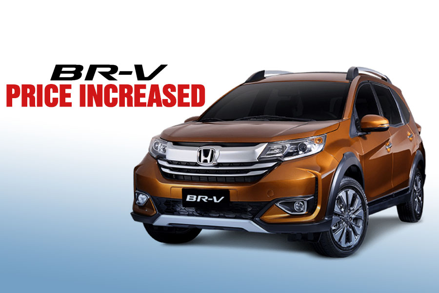 Honda BR-V Gets a Price Bump 5