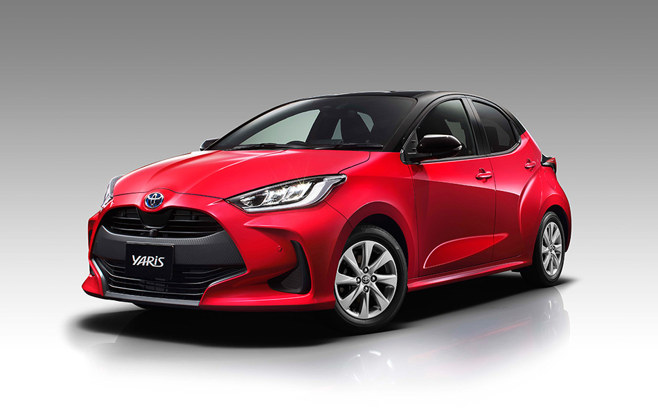 Toyota Unveils the All New Yaris Hatchback 1