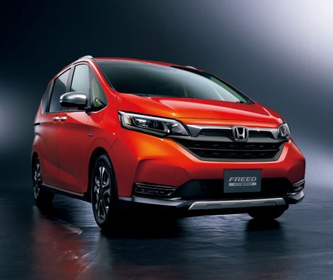 Honda Freed Gets a Facelift and a New Trim 8