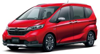 Honda Freed Gets a Facelift and a New Trim 20