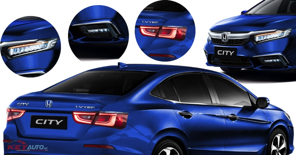 7th Gen Honda City to Debut Next Month 5