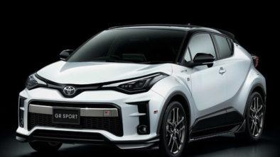 The 2020 Toyota C-HR GR Sport 3
