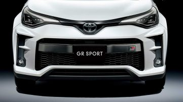 The 2020 Toyota C-HR GR Sport 3