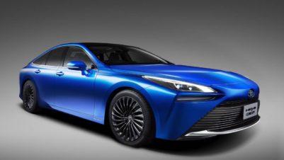 Next Generation Toyota Mirai is a Stunner 1