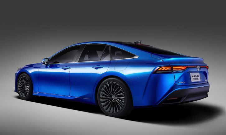 Next Generation Toyota Mirai is a Stunner 6